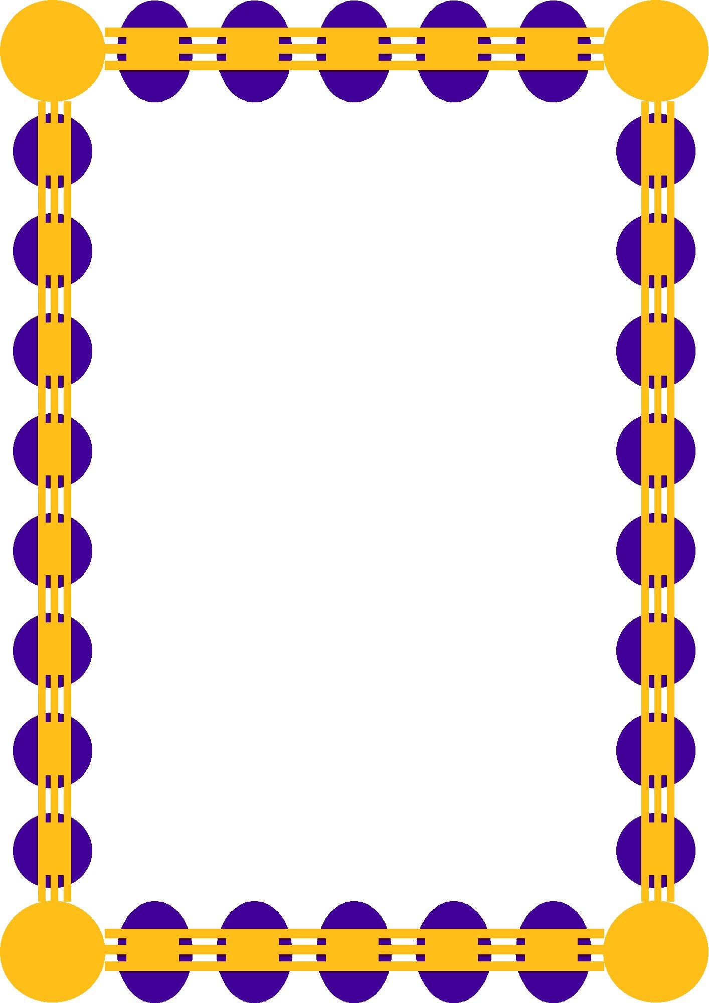 Frames clip art borders clipart