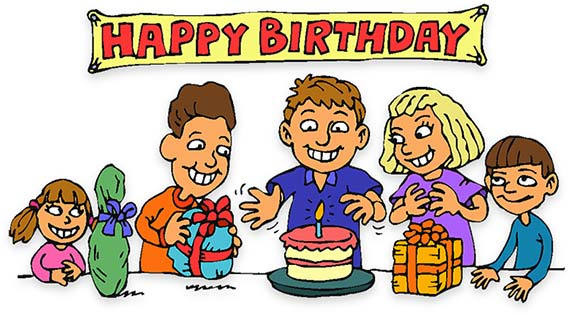 Free birthday clipart animations 3