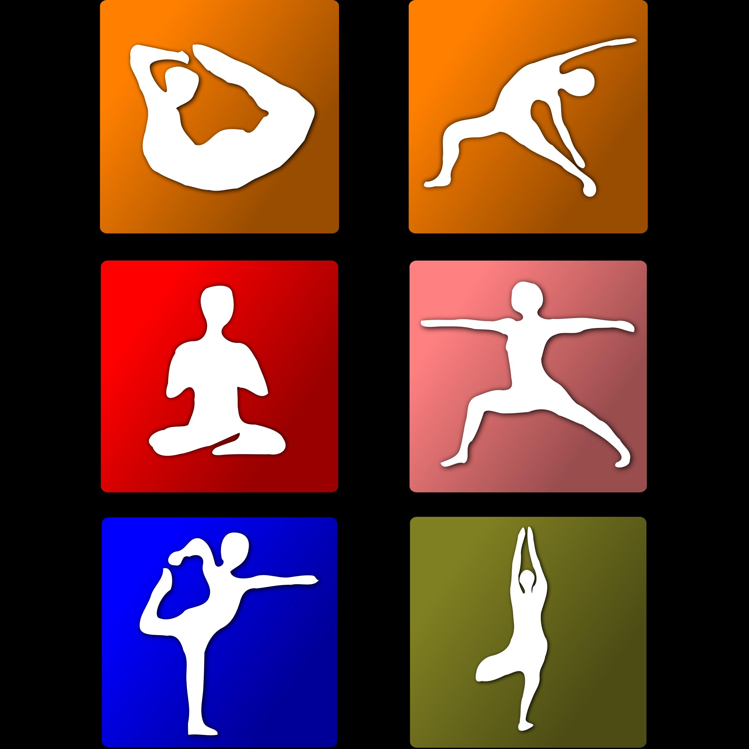 Free clipart yoga