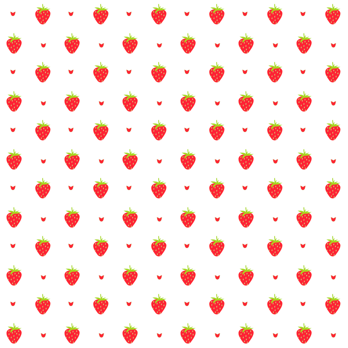 Free digital strawberry scrapbooking paper and embellishment