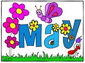 Free may clipart