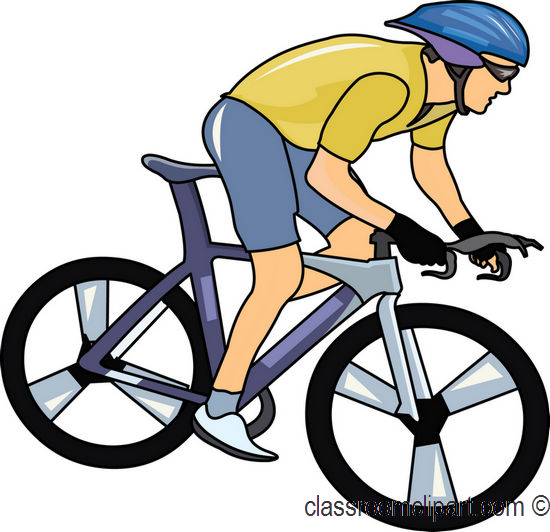 Free sports bicycle clipart clip art pictures graphics