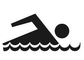 Free swimming clip art clipart