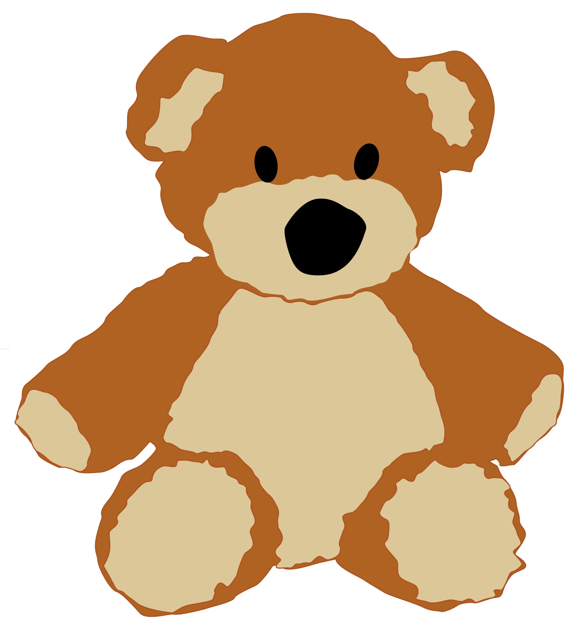 Free teddy bear clipart free clip art images