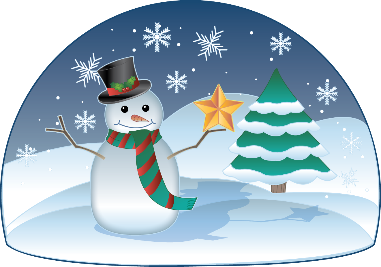 Holiday scenes clip art clip art free clip art microsoft clip art