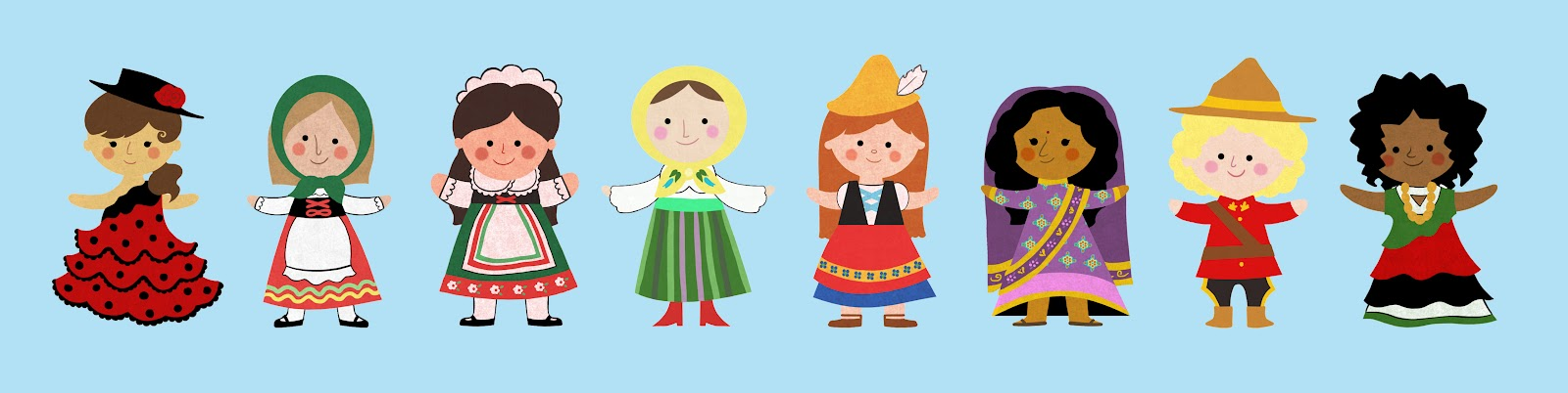 Its a small world clip art on