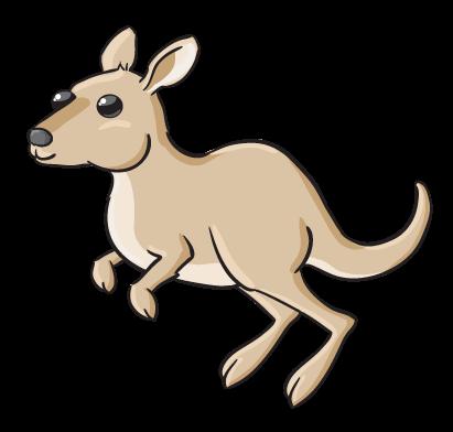 Kangaroo clip art  2