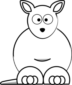Kangaroo clip art clipart
