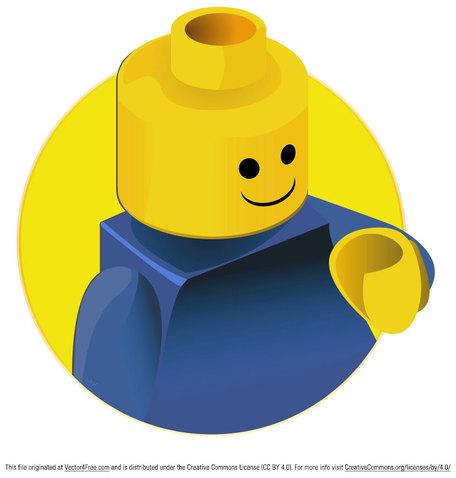 Lego clip art vector lego 6 graphics