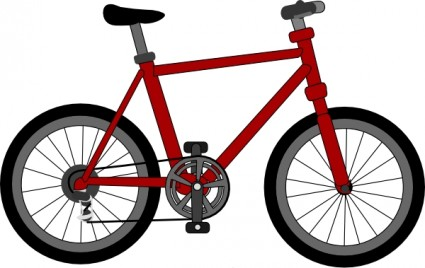 Lescinqailes bicycle clip art free vector in open office drawing
