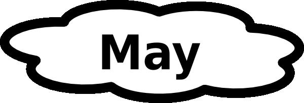 May calendar sign clip art at vector clip art online