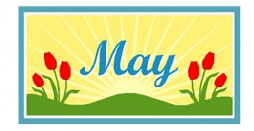 May spring clip art free clip art