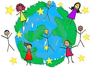 Picture of the world clipart
