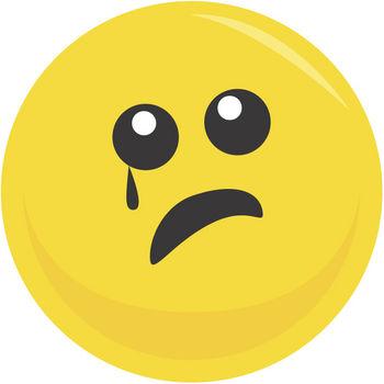Sad face clip art