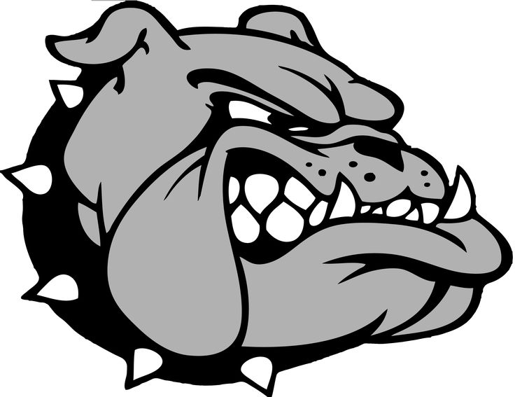 School mascot bulldog clip art 3 mascot