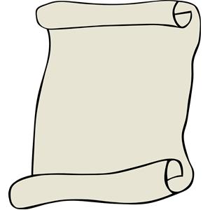 Scroll clip art
