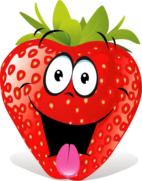 Strawberries Clip Art Black And White