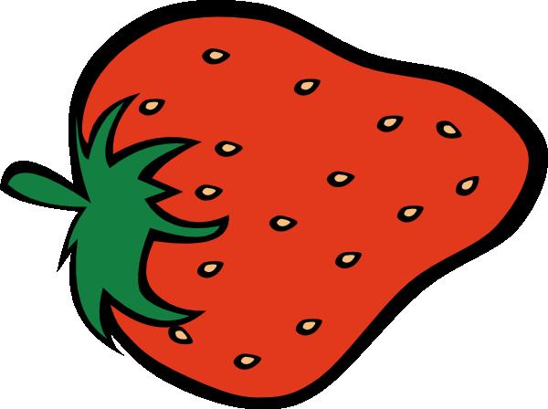 Strawberry clip art at vector clip art online royalty