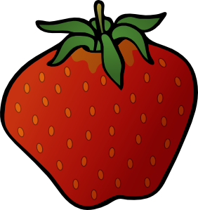 Strawberry clip art at vector clip art online