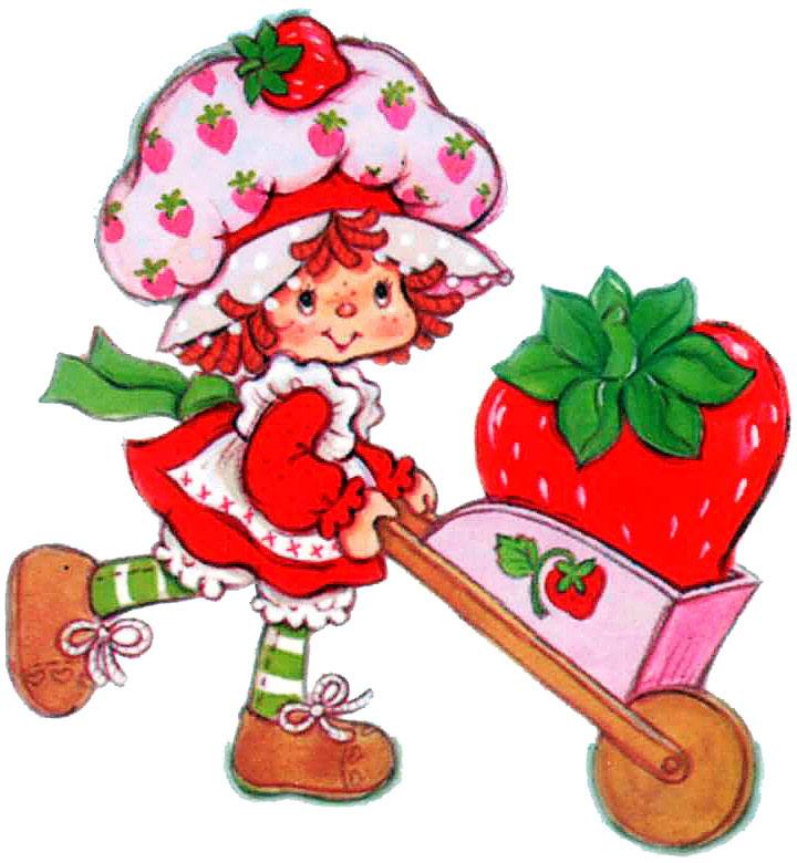 Strawberry shortcake clipart
