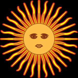 Sun of may clip art at vector clip art online royalty