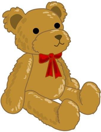 Teddy bear clip art free clipart