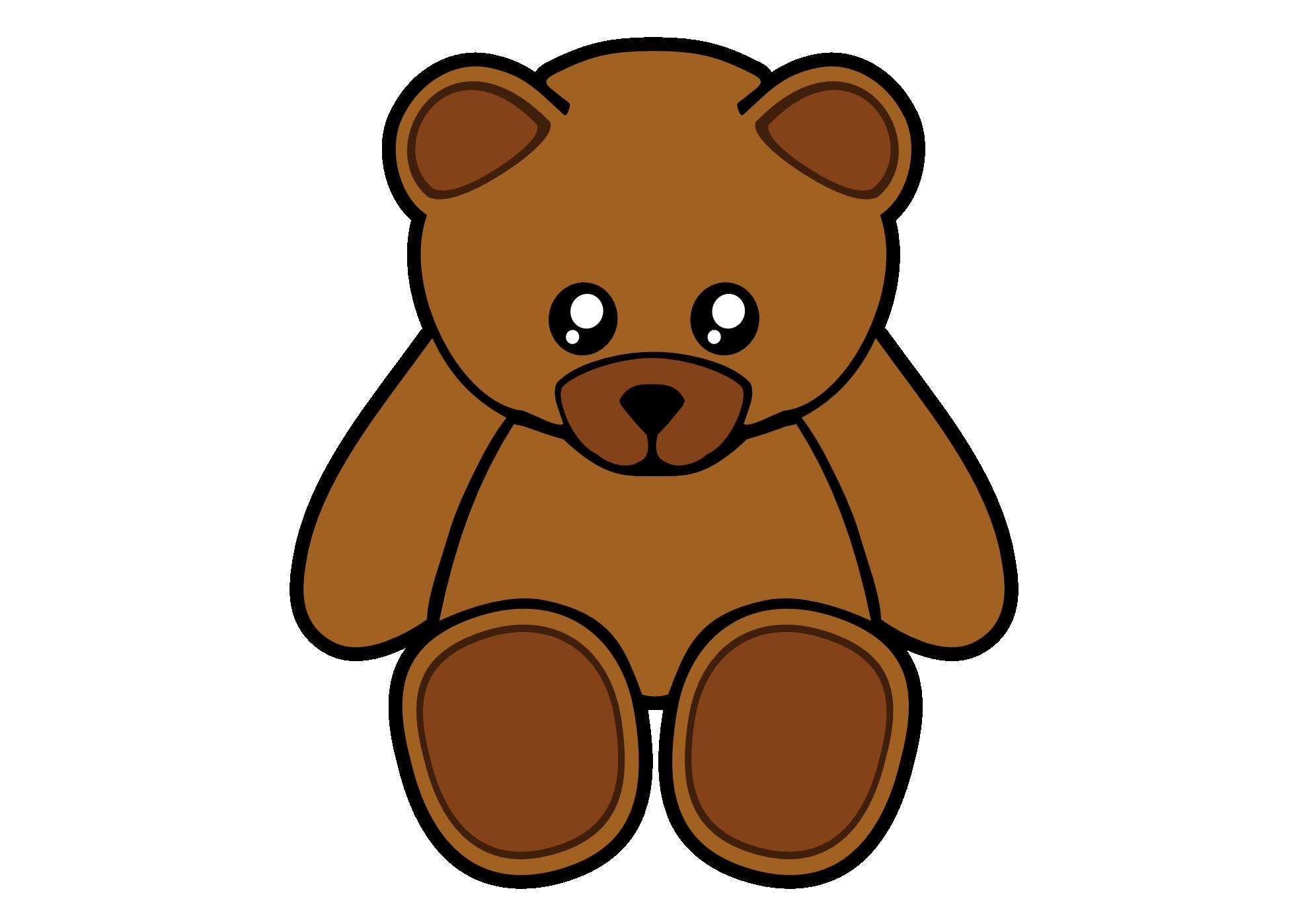 Teddy bear clipart 2