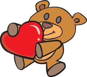 Teddy bear clipart image clip art illustration of a teddy bear