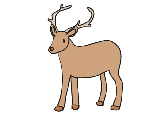Whitetail deer clipart free clip art images