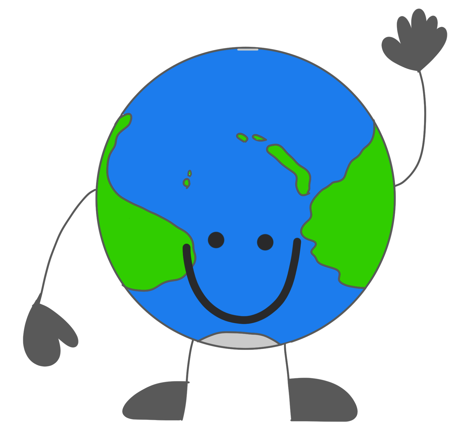 World clip art of earth