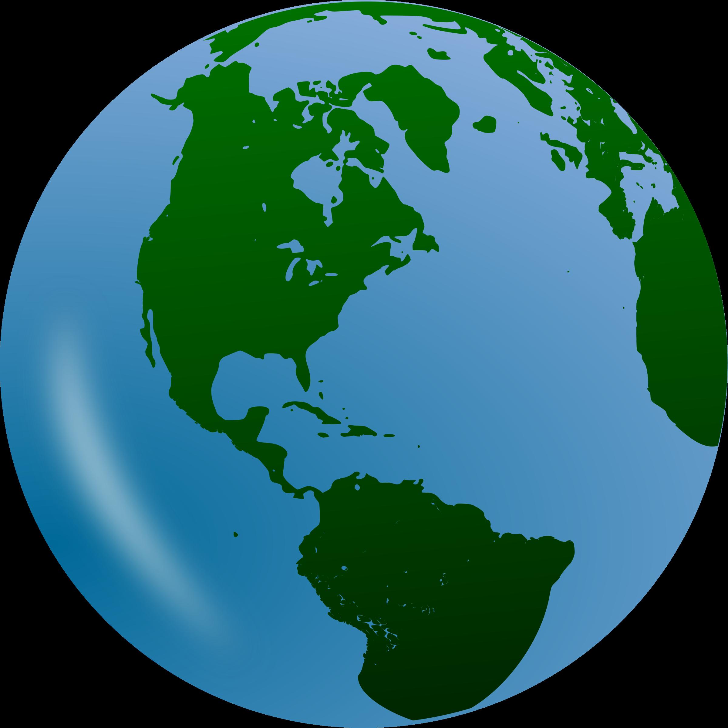 World clipart globe