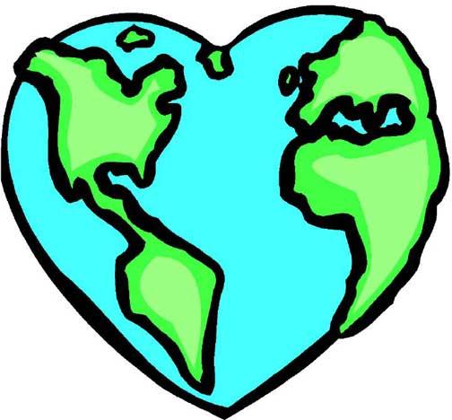 World heart clipart clipart