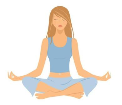 Yoga clipart free clipart