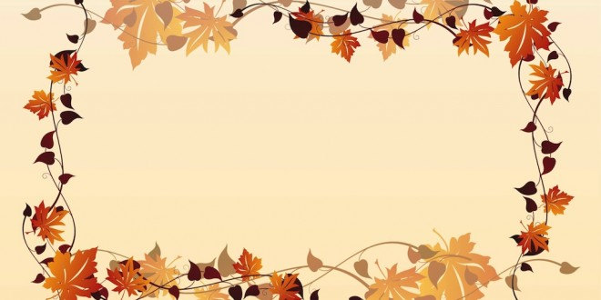 Autumn background clipart images