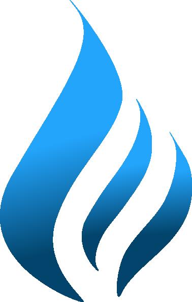 Blue flame6 clip art at vector clip art online