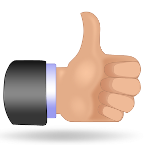Free clipart thumbs up clipart 2