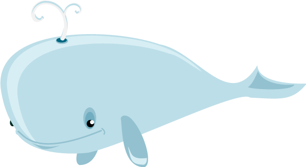 Free dolphin and whale graphics ocean clipart 2