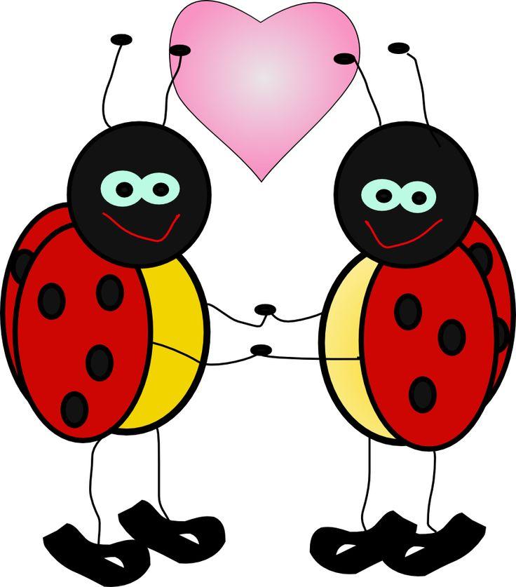 Lady bugs love bugs clip art cute free clip art