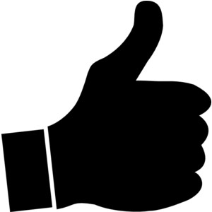 Thumbs up clip art clipart