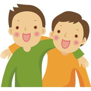 Two friends clipart free clip art images
