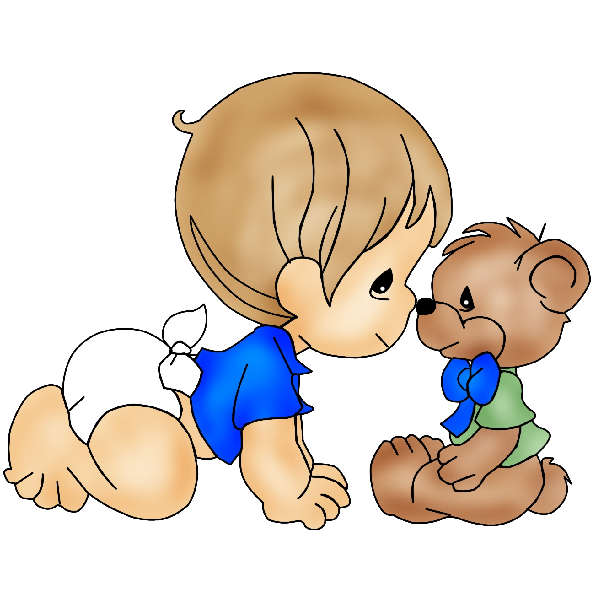Baby boy cute baby clipart 6 height