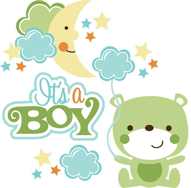 Baby boy clip art clipart image #7538