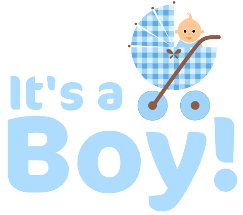 Baby boy graphic clipart