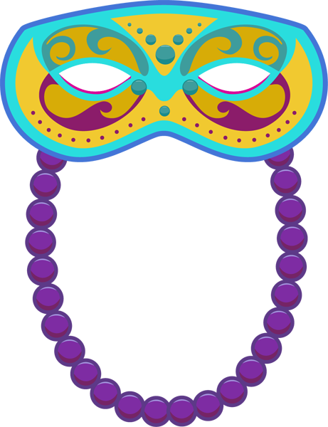 Clip art of mardi gras mask clipart clipart