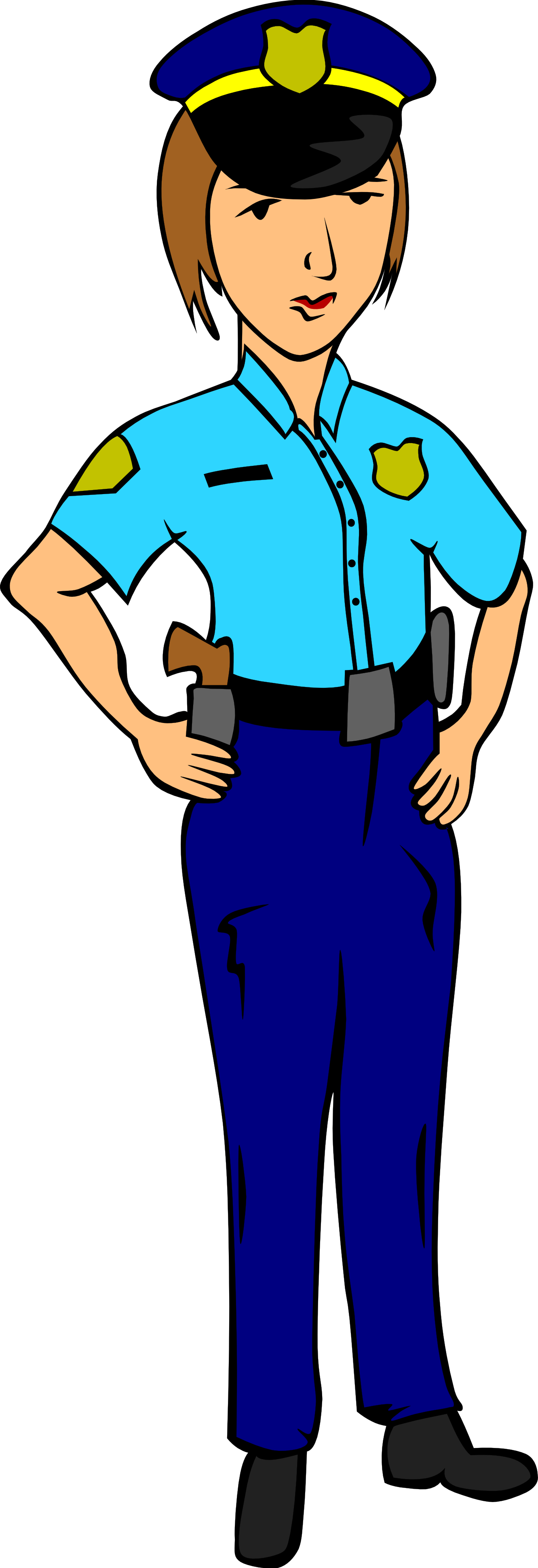 Clipart police clipart