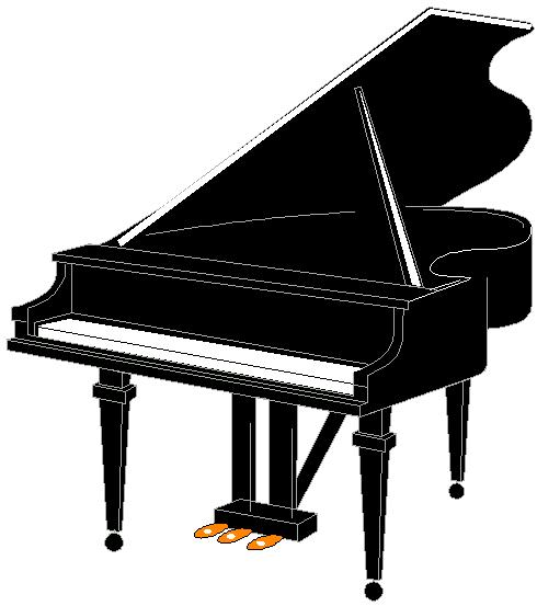 Free piano clipart clipart