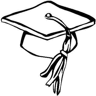 Graduation hat clip art free