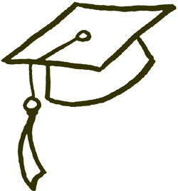 Graduation hat clipart of graduation cap clipart