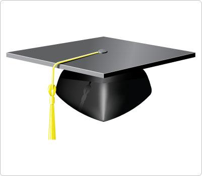 Graduation hat free clip art of a graduation cap clipart