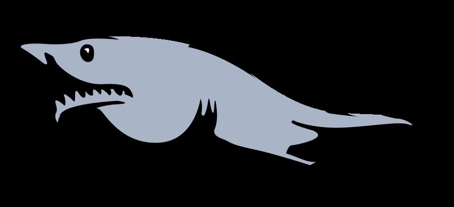 Hammerhezad shark clipart clipart